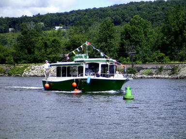 Erie Canal boat