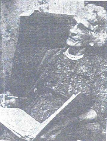 Mrs. Helen Laura Clock Williams